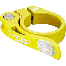 Reverse Long Life Seat Clamp 34,9mm yellow